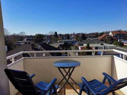 Gepflegte 4,5-Raum-Wohnung mit Balkon und Einbauküche in Bottrop Fuhlenbrock