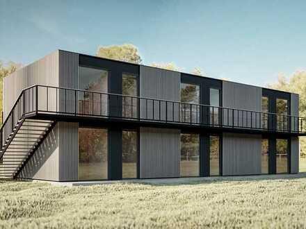 Erstbezug: Luxuriöse, energiesparende (KfW 40) 2-Zimmer-Wohnung am Park