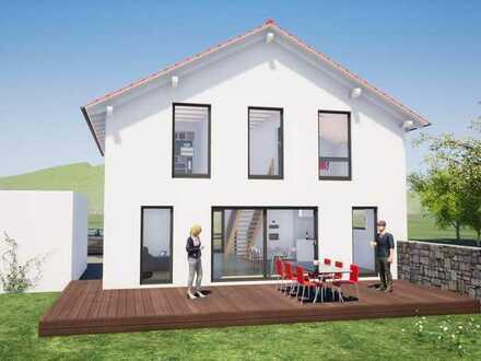 Vollunterkellertes Traumhaus mit 4 Kinderzimmern, großer Garage und toller Aussicht