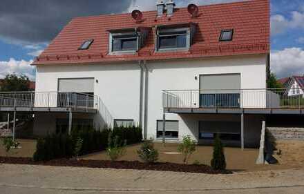 exklusive Doppelhaushälfte Neubau in ruhiger Lage in Kühbach
