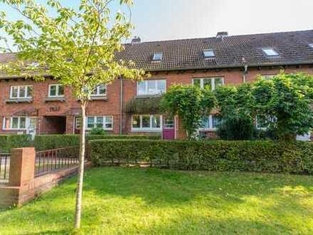 Nur noch Warteliste! Seltenes Franksches Siedlungshaus mit Garten in Klein Borstel