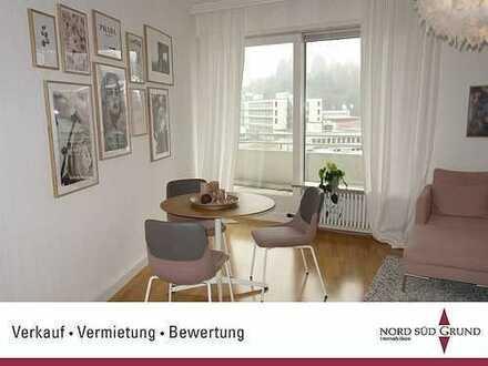 Gepflegte 3-Zimmer-Etagenwohnung. Garage. 84 m². Nahe SWR in Baden-Baden.