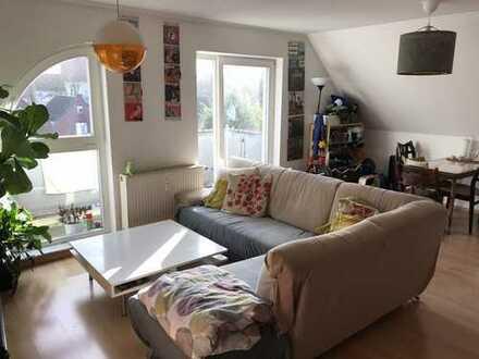Freundliche 3-Zimmer-Maisonette-Wohnung mit Balkon und Einbauküche in Oldenburg (Oldenburg)
