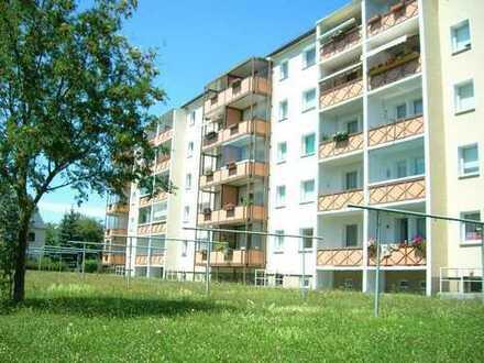 Ruhige Lage! Sanierte 2-Raum-Wohnung mit Balkon im Erdgeschoss ab Oktober 2019 zu vermieten