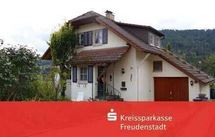 Einfamilienhaus in schöner Wohnlage in Baiersbronn-Schönegründ mit herrlicher Aussicht