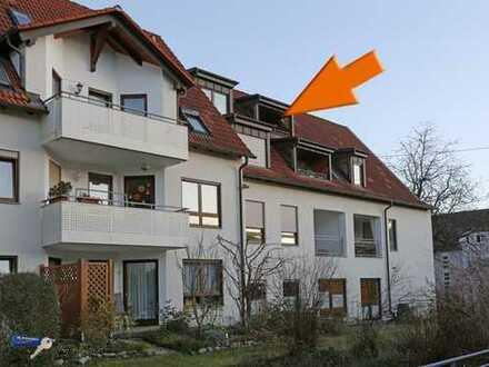 Eine Wohnung wie ein Atelier in Eningen