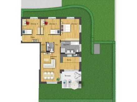 Herrliche 4-Zimmer-Erdgeschosswohnung mit großem Garten