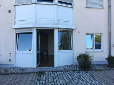 1 Zimmer Wohnung mit Kellerraum und Außenstellplatz in Günzburg