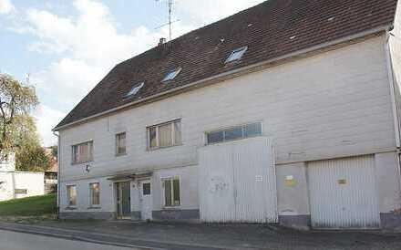 Talheim / TUT: Handwerker gesucht : Leerstehendes Wohnhaus mit 2 Wohnungen + Ökonomieteil