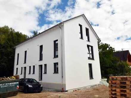*FAST 50% VERKAUFT* NEUBAU: Rohbau fertiggestellt! Doppelhaus, (Nr. 6) mit 144 m² Wfl., Lorsbach