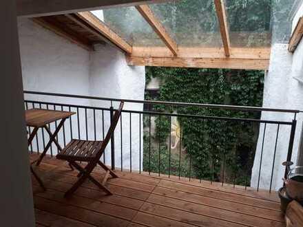 3-Zimmer-Altstadtwohnung zur Innseite mit Loggia (ohne Blick)