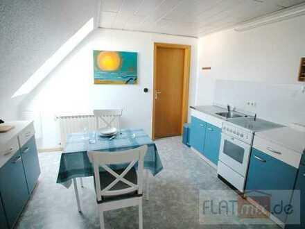 FLATmix.de / Möblierte 1-Zimmer-DG-Wohnung in verkehrsgünstiger Lage...