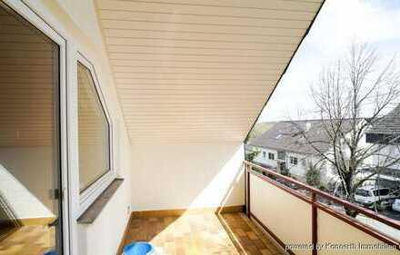 Gemütliche 3-Zimmer-Wohnung mit Balkon und 2 Stellplätzen