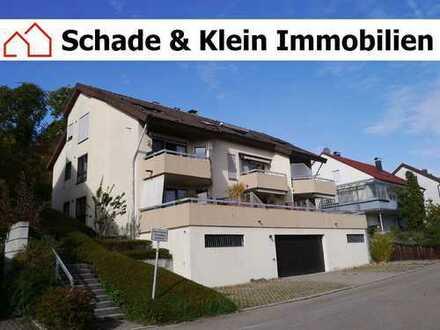 2-Zimmer-Wohnung mit Dachloggia in Unterensingen