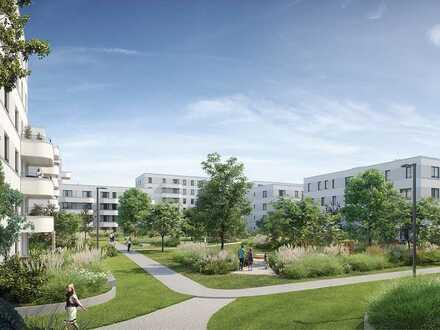 Ihr Lieblingsplatz mit Blick auf den Park: Gut proportionierte 3-Zimmer-Wohnung mit sonnigem Balkon
