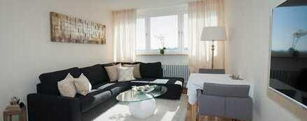 Schönes möbliertes 1,5 Zimmer Stadtappartment im Hain ab sofort zu vermieten
