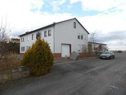 neuwertiges Gewerbeanwesen mit Büro-/ Wohnhaus & Hallen in Küllstedt bei Mühlhausen