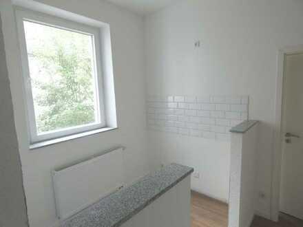 schöne 2 Zimmer mit Wohnung mit großem Balkon im 1. OG hinten