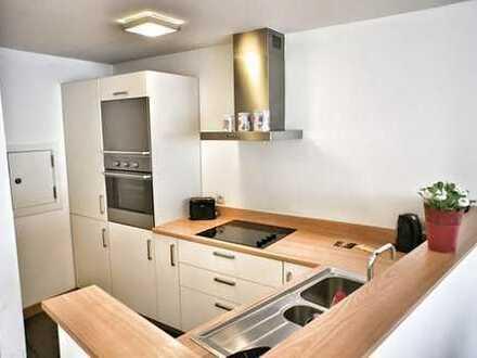 Zentral gelegene 2-Zimmer-Wohnung in einem ruhigen Neubau Wohnquartier im Frankfurter Europaviertel