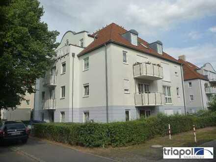 Schöne Maisonettewohnung mit 2 Dachterrassen und Tiefgarage in Coswig.