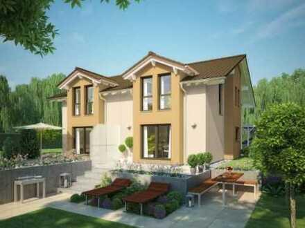 Wohnen im Doppelhaus mit Garten