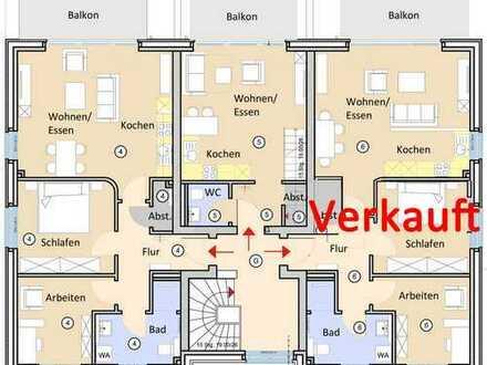Exklusive 72m² Maisonettewohnung mit Südwestbalkon in Waldbachlage