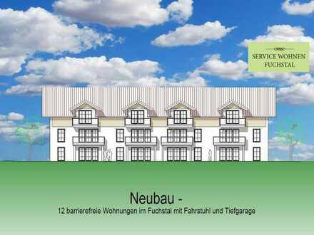 3 Zimmer Whg. EG Mitte West Neubau in schicker Wohnanlage mit 12 Wohneinheiten in Asch