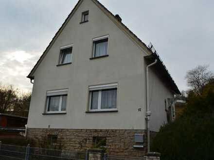 Freistehendes, kleines Einfamilienhaus in AHORN-Ortsteil