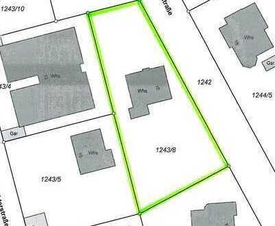 Grundstück für Wohnbebauung - auch Mehrfamilienhaus - in 1 A - Lage