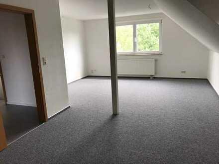 Große renovierte 2-Raum-DG-Wohnung mit Kellerraum und Garagenstellplatz in Eberswalde/Ostend