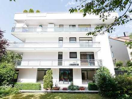 Gehobene Vier Zimmer Wohnung mit Garten zur Nutzung am Park Nähe Friedensengel