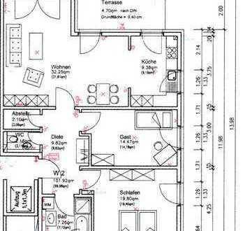 Neuwertige 3-Zimmer-Wohnung mit Terrasse und EBK in Gifhorn