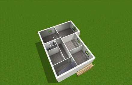 ERSTBEZUG NACH HOCHWERTIGER MODERNISIERUNG EG Wohnung mit Terrasse und Garten
