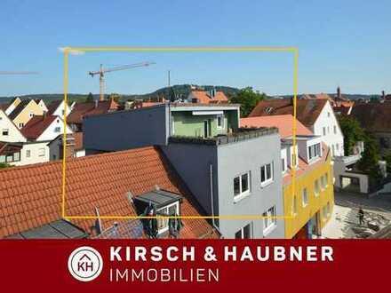 Altstadt-Lifestyle! Dachterrasse mit Blick über die Dächer,  Neumarkt - Zentrum