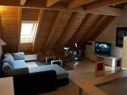 Vollmöblierte Dachgeschoßwohnung mit Galerie in Geltendorf