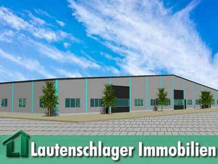 Flexibel gestaltbare Gewerbehalle im Gewerbegebiet Mühlhausen-Nord