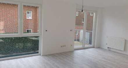Appartement mit Küche, Bad und Balkon
