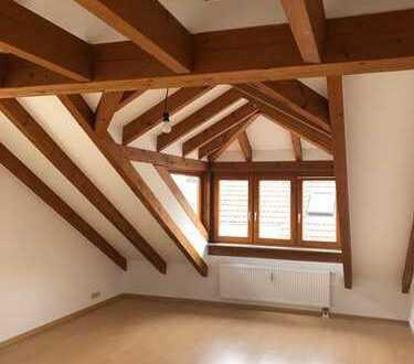 Exklusive, vollständig renovierte 2-Zimmer-DG-Wohnung mit Balkon und EBK in Leonberg