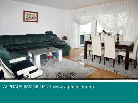 4 Zimmer- Wohnung mit großem Balkon in TOP-Lage von Waldkraiburg