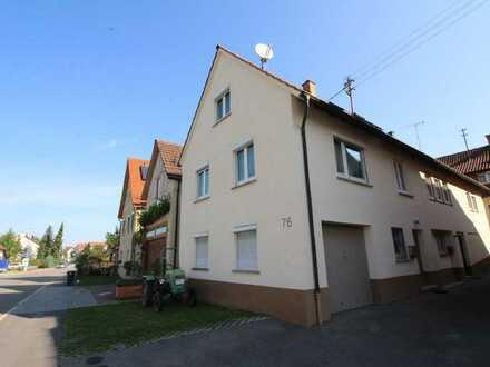 Eine gepflegte Doppelhaushälfte zum Preis einer ETW in Weinstadt-Strümpfelbach!