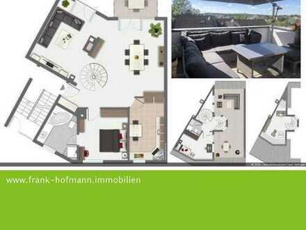 Schöne Maisonettewohnung mit Fernblick (Laineck)