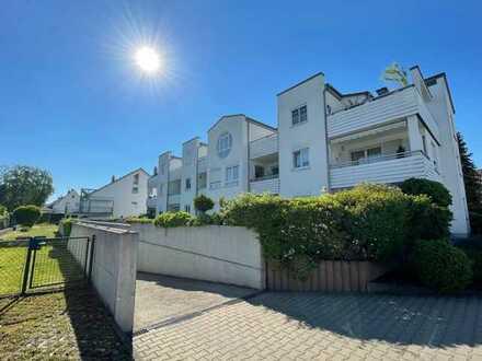 Exklusive, geräumige und neuwertige 2-Zimmer-Wohnung mit Balkon und Einbauküche in Bellenberg