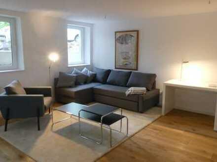 Provisionsfrei/Neue möblierte Wohnung mit Terrasse in Münster-Mecklenbeck