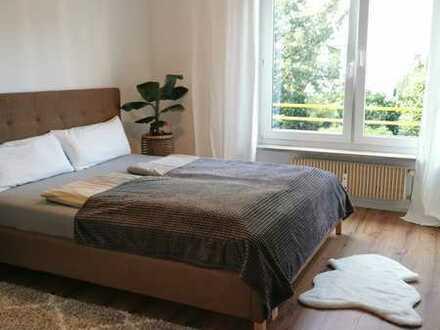Möblierte 2 Zimmer EG Wohnung mit Garten mitten in Vörstetten