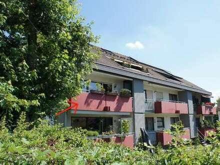 + tolle 4-Zimmer Wohnung mit Balkon und Ausblick +