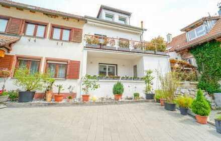 Exklusives 3-Zimmer-Reiheneckhaus mit Balkon Terrasse und EBK in Inzlingen
