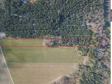 Ansprechende Wald- (4.743m²) und Wiesenfläche (2.517m²) / Kauf gegen Gebot!