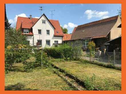 Wohnhaus mit Scheune und bebaubarem Grundstück