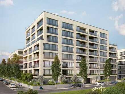Wohlfühlwohnen in Top-Lage: 2-Zimmer-Wohnung mit modernem Wohnkomfort und großer West-Logia