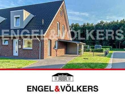 Moderne Doppelhaushälfte in Westrhauderfehn! Sofort verfügbar.